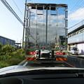透明なトラック