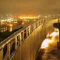 Photos: 夜景を眺めるカップル