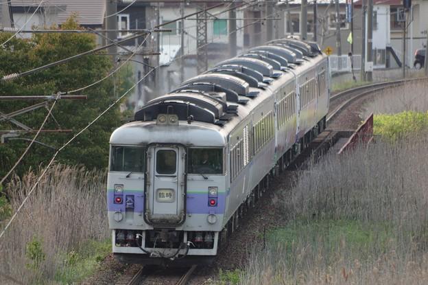~キハ183-104編成 臨時列車