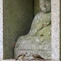 写真: 石仏もニッコリ