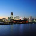 写真: ブルーアワーin横浜