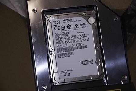MacBookPro SSD交換&OptiBay導入作戦01