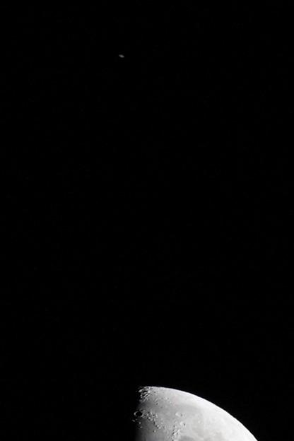 土星が分かりづらいのでトリミングしてみました(^_^)v