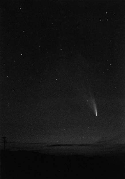 Photos: 祖母と見たウエスト彗星