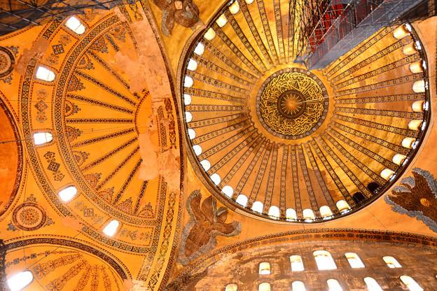 アヤソフィアの天井