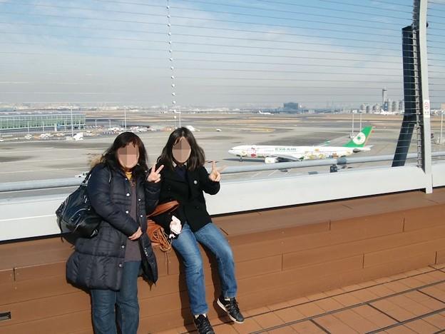 写真: DSC_0157 羽田にて