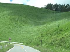 緑深い車山高原