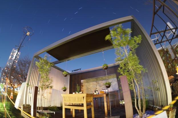 写真: アーバンハウスと星