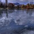 Photos: 氷上の雲
