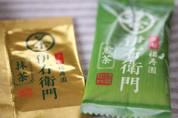 サントリー 京都 福寿園 伊右衛門 煎茶、抹茶