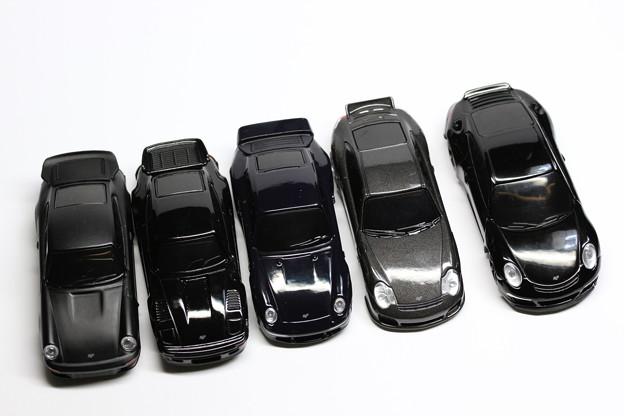 UCCオマケ RUF Black Car Collection 勢ぞろい全5種類