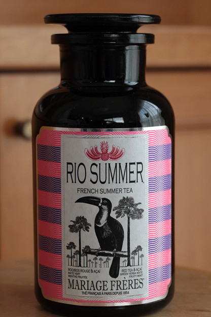 MARIAGE FRERES RIO SUMMER ROOIBOS ROUGE FRENCH SUMMER TEA 瓶