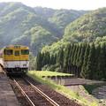 写真: 山口線 青野山駅