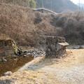 写真: 秋畑那須の廃橋