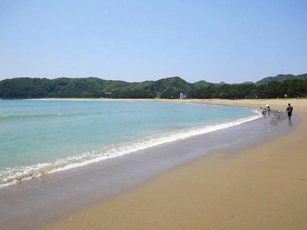 弓ヶ浜海水浴場(静岡県南伊豆町)