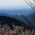 写真: 幾重もの山並み