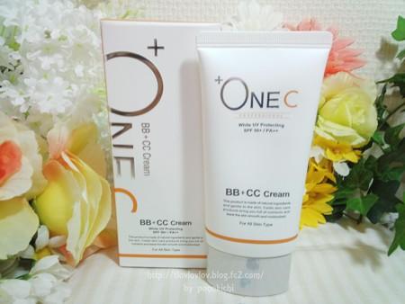 +OneC(プラワンシー) BB+CCクリーム(ファンデーション) (1)