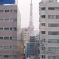 東京タワーと新幹線