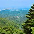 高尾山からの展望