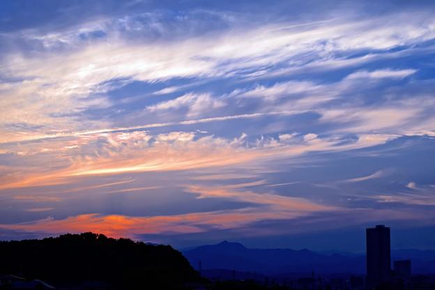 Photos: 日没の夕空