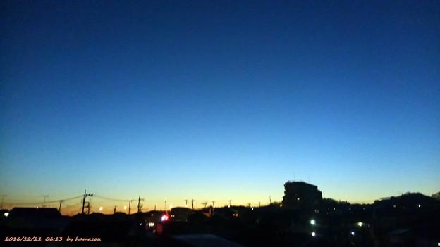 朝焼け(161221)