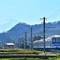富士が見える沿線2