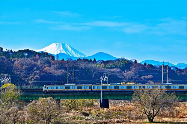 富士が見える沿線4