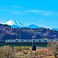 Photos: 富士が見える沿線4