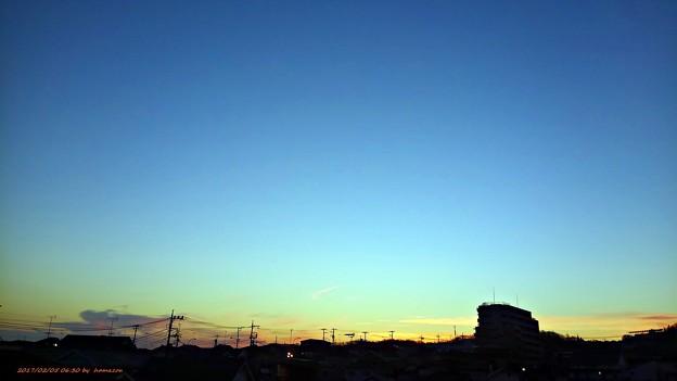 朝焼け(170205)