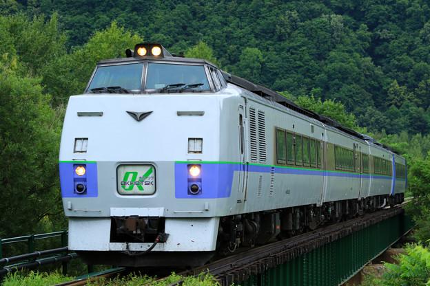 キハ183系「特急オホーツク」@上川~東雲