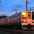 Photos: 211系 Orange in@信越本線