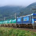 Photos: 2085レ EH200-17+タキ@稲荷山ストレート