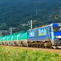 Photos: 5463レ EH200-12+タキ@稲荷山ストレート