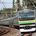 E231系@北鎌倉~鎌倉