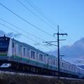 Photos: E233系@蒲須坂築堤