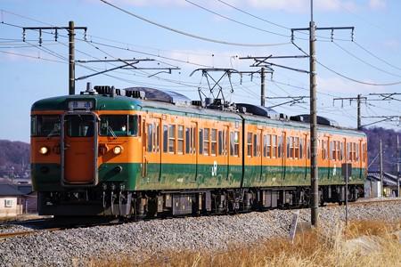 537M 115系@ヤギシブ