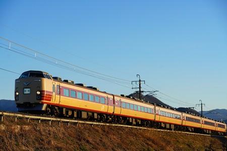 9422M 189系団体列車 トタM51編成@岩宿