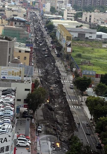 台湾高雄の惨劇 まるでダイハードかと思えるような爆発の後・・・ (3)