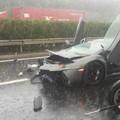 Photos: ランボルギーニの事故 言えるのは『もったいない』かな (2)