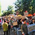 Photos: 城管への暴力反対デモ この手作り感でホントに思える! (2)