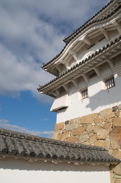 姫路城【24_水四門を入った場所から見た天守閣】