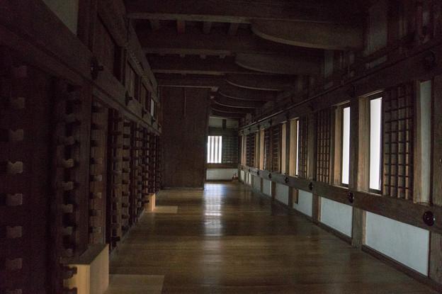 姫路城【26_天守内の廊下】