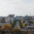 姫路城【34_本丸から見る姫路駅】