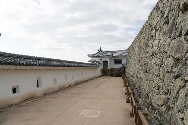 姫路城【36_備前門の先にある長通路】