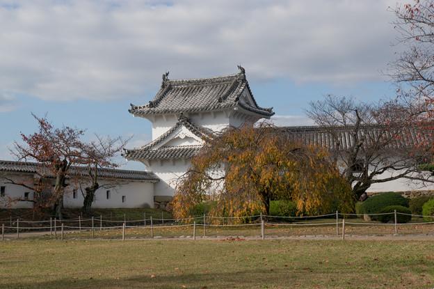 姫路城【42_百間廊下の入口】