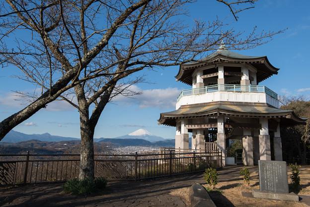 富士山【弘法山からの眺め】3