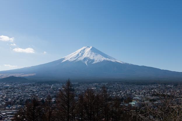 富士山【新倉富士浅間神社からの眺め】3