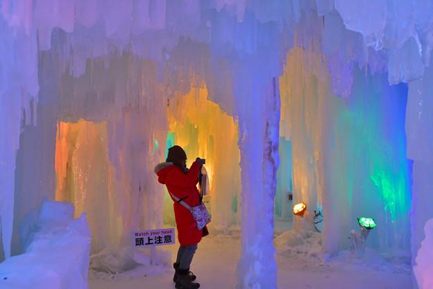 層雲峡氷瀑祭り  (3)