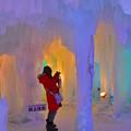 写真: 層雲峡氷瀑祭り  (3)