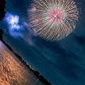 写真: 夜空に咲く華
